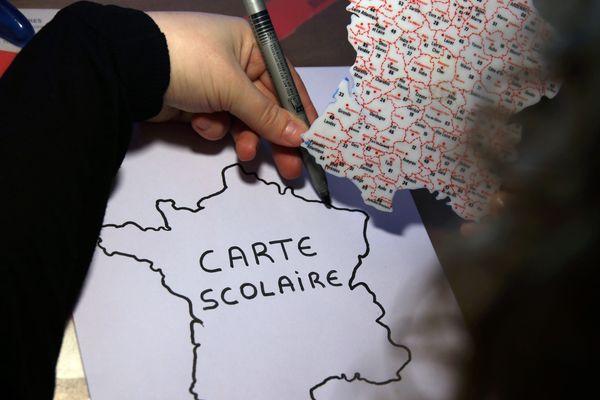 France 3 vous propose une carte interactive dans votre département.