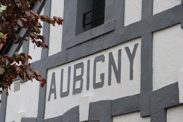 La gare d'Aubigny-en-Artois.