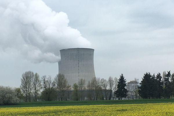 La centrale de Saint-Laurent-des-Eaux, dans le Loir-et-Cher.