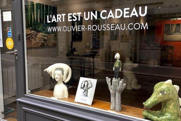 La galerie Olivier Rousseau à Tours