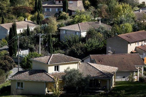 En 2014, près de trois ménages propriétaires sur quatre habitent une maison, selon les chiffres de l'Insee pour la région Auvergne-Rhône-Alpes. Photo d'illustration.
