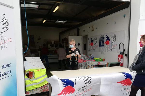 L'aide alimentaire s'organise à La Roche-sur-Yon