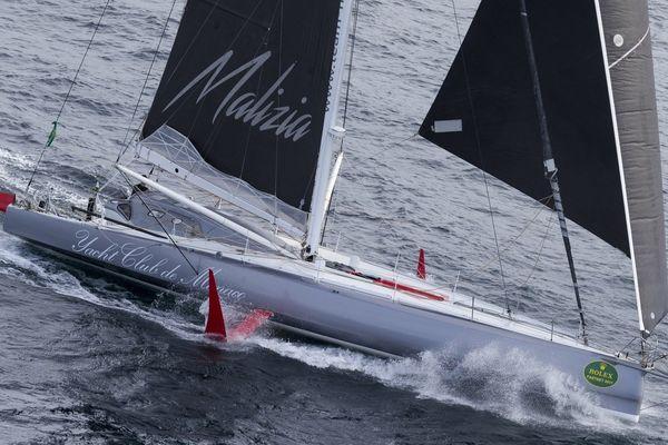Le Malizia II - Yacht Club de Monaco.
