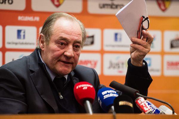 Gervais Martel a informé la DNCG qu'il avait trouvé un repreneur pour le RC Lens.