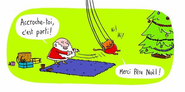 Bonjour Père Noël de Michaël Escoffier et Matthieu Maudet