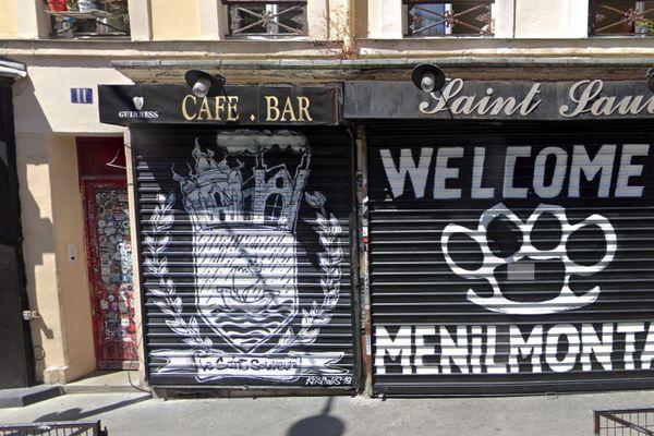 C'est dans ce bar de Ménilmontant, bien connu de la mouvance antifa, que se sont déroulés les faits. (Capture d'écran Google Maps)