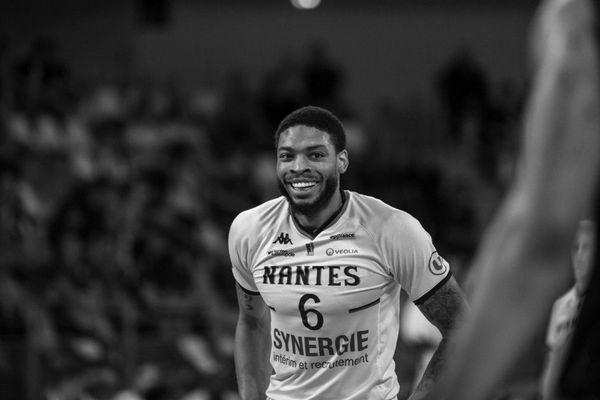 Le basketteur américain Jermaine Marshall, sous les couleurs du Nantes Hermine Basket
