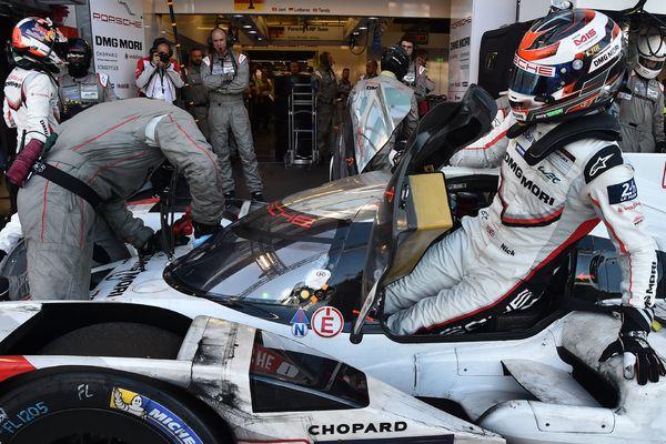 La Porsche N°1 lors de l'édition des 24 Heures du Mans 2017