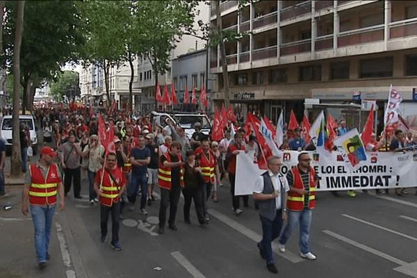 Manifestation lyonnaise des opposants à la loi travail - 28/6/16