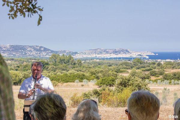 Les musiciens invités par les Rencontres se produisent sur les scènes les plus inattendues que peut offrir la Balagne