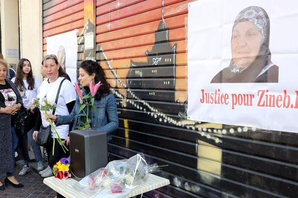 De nombreuses personnes se sont mobilisés à Marseille lors de la manifestation en hommage à Zineb Redouane.