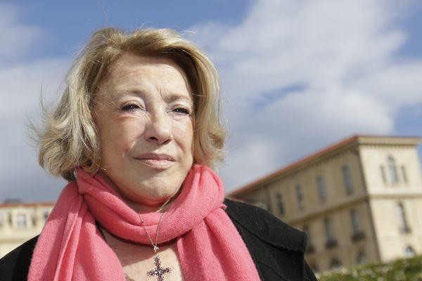 Maryse Joissains, maire Les Républicains d'Aix-en-Provence.