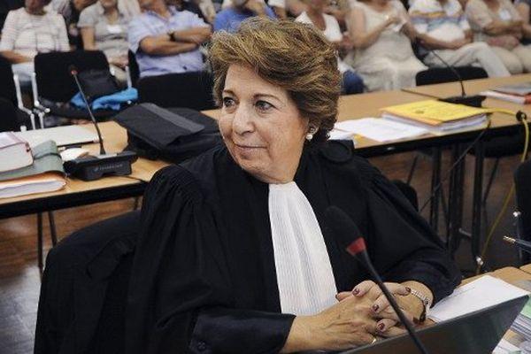 Me Corine Lepage, défenseure des parties civiles dans le procès Xynthia aux Sables-d'Olonne