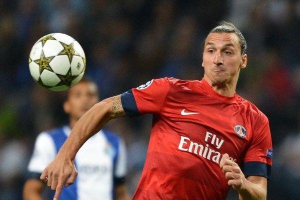 Zlatan Ibrahimovic le 3 octobre 2012 - photo Miguel Riopa - Afp
