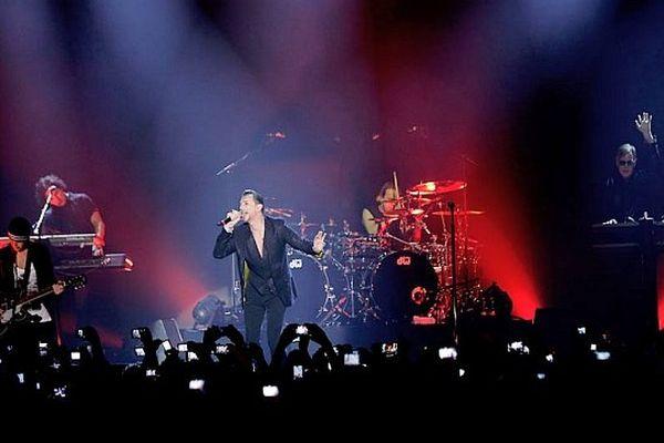 Depeche Mode en concert - mars 2013.