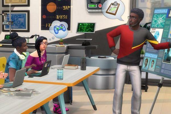 Pour la sortie des Sims 4 à la fac, EA offre une bourse d'études.