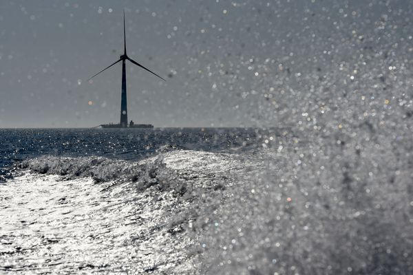 Eolienne offshore (image d'illustration)