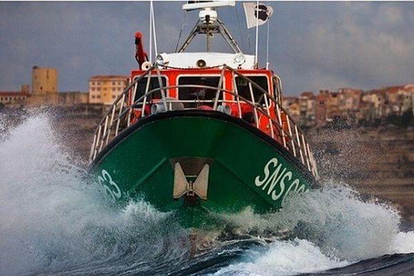 Le canot tous temps CV L'Herminier II – SNS063 de la station SNSM de Bonifacio