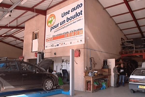 L'association loue à prix très modique un véhicule aux demandeurs d'emploi