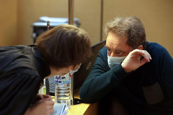 Guillaume Dujardin, lors de son procès en appel en septembre 2021 à Besançon.