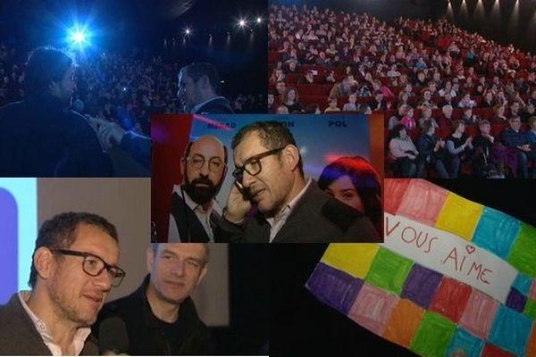Neuf cinémas en deux jours pour Dany Boon, le Supercondriaque préféré des nordistes