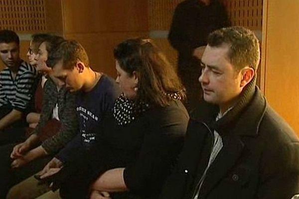 Montpellier - les parents de Charlotte à l'audience du tribunal correctionnel - mars 2014.