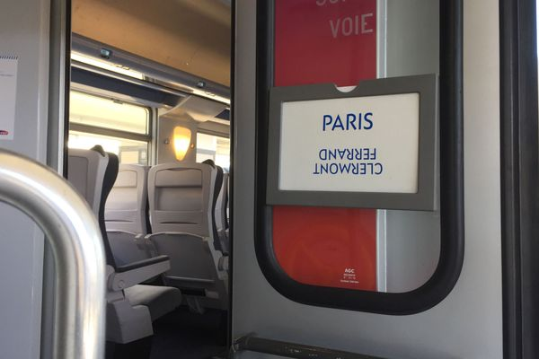 Au mois de janvier, la SNCF va procéder à des travaux sur des portions de voie entre Clermont-Ferrand et Paris ce qui entraînera des suppressions de trains.