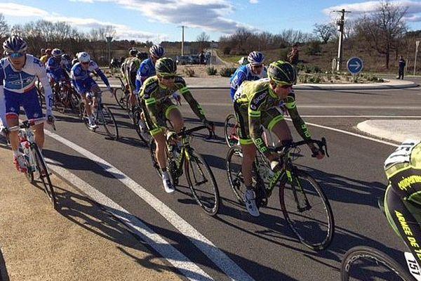 Les coureurs de la 46e Etoile de Bessèges (Gard) - 2016