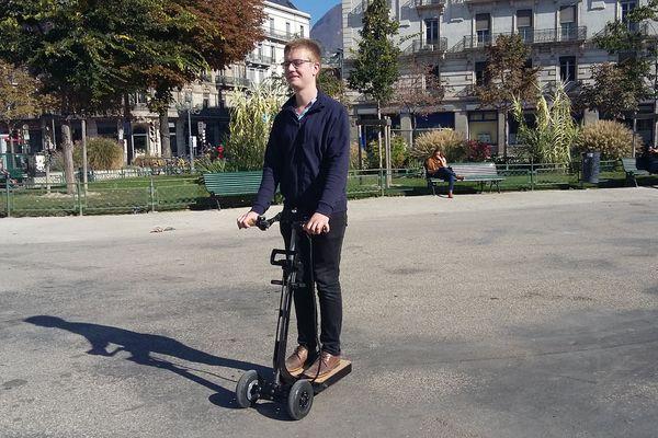 La trottinette-électrique-chariot coûtera 1200€