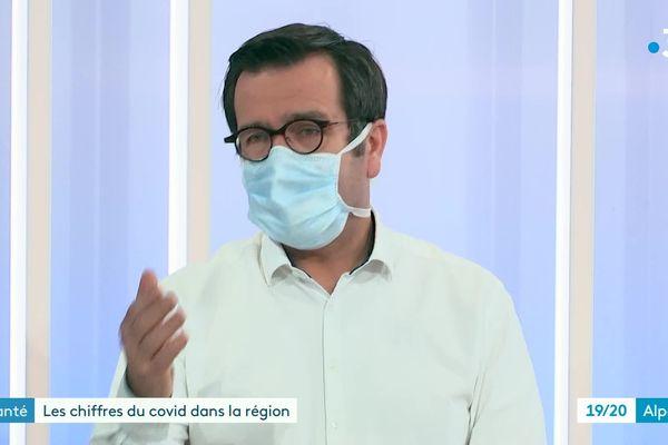 Dr Didier Legeais, Vice-Président du Conseil de l'Ordre des Médecins de l'Isère
