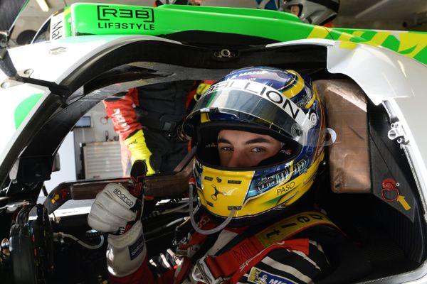 Thomas Laurent, 22 ans, ici aux 24 heures du Mans en juin 2019, vient de sortir indemne d'un accident spectaculaire lors des 6 heures de Spa.