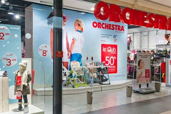 Un magasin Orchestra.