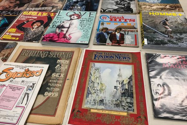 La plus grande collection de magazines anglais et américains pourrait bien être numérisée par une entreprise alsacienne