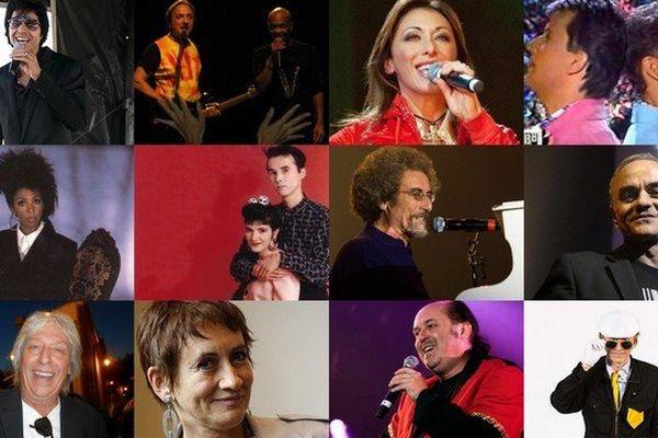 Stars 80 (Lahaye, Emile et images, Sabrina, Début de soirée, Mader, Cookie DIngler...) en concert ce vendredi soir
