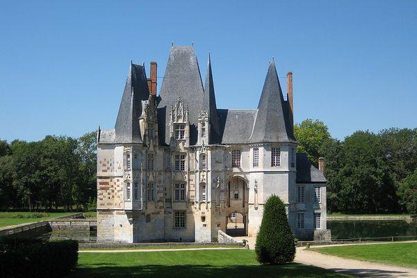 Dans l'Orne, à Mortrée, le Château d'O bénéficiera d'une belle luminosité grâce à un bon ensoleillement.