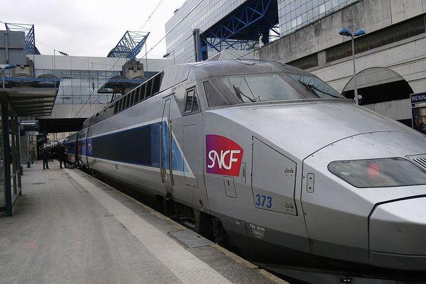 Un TGV en gare de Rennes (illustration).