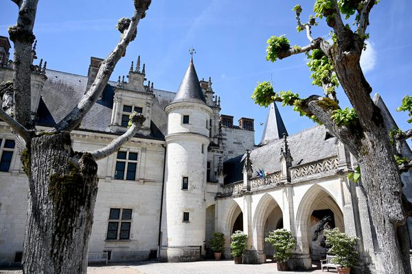L'entrée du Clos-Lucé, à Amboise, sera gratuit du 18 septembre au 17 octobre.