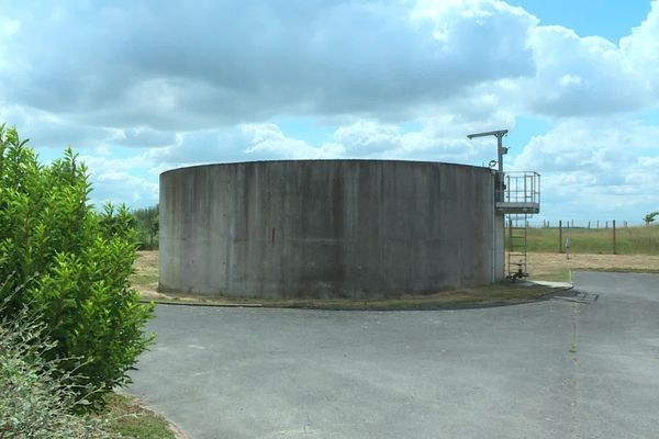 Station d'épuration à Boissy-Fresnoy, Oise