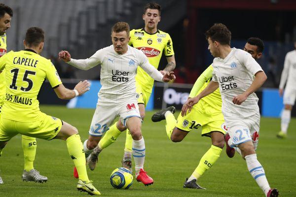 Beaucoup de ballons perdus sur ce match pour les joueurs de Stéphane Moulin mais au final un point.