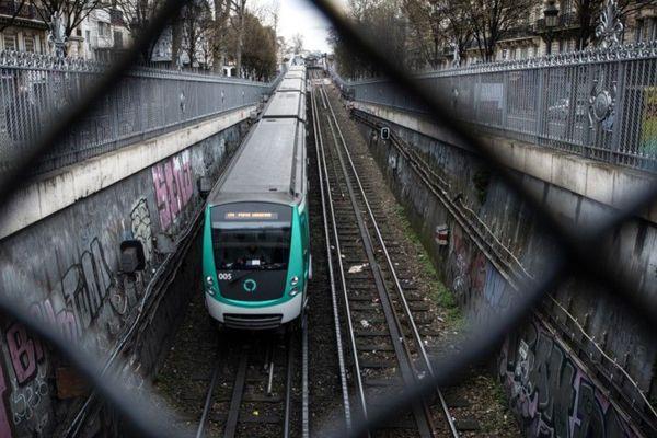 La RATP prévoit un métro sur deux, mercredi 18 mars (illustration).