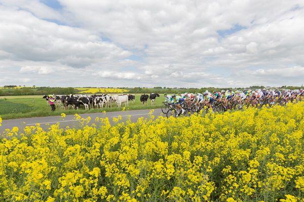 Sur la première étape du Tour de Bretagne 2018
