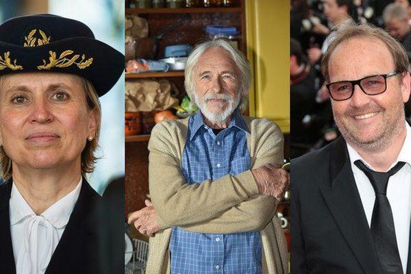 Fabienne Buccio, préfète du Pas-de-Calais, l'acteur Pierre Richard et le réalisateur Xavier Beauvois sont distingués par la Légion d'honneur.
