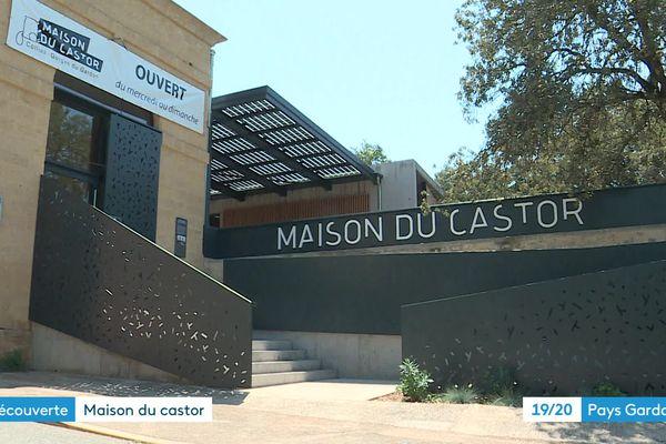 La Maison du Castor a ouvert ses portes à Collias