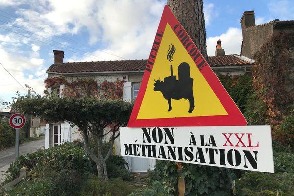 Un collectif de riverains s'oppose au projet de méthaniseur à Corcoué-sur-Logne