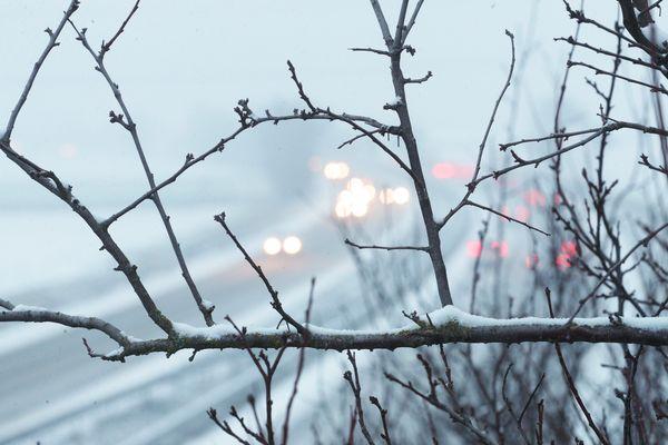 (Photo d'illustration) La circulation est restreinte sur l'autoroute A89 entre Thiers et le département de la Loire lundi 28 janvier.