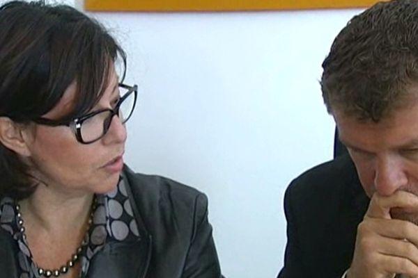 Isabelle Monsenego et Luc Abratkiewicz - avocats de Mladen Bojinovic - 15 octobre 2012.