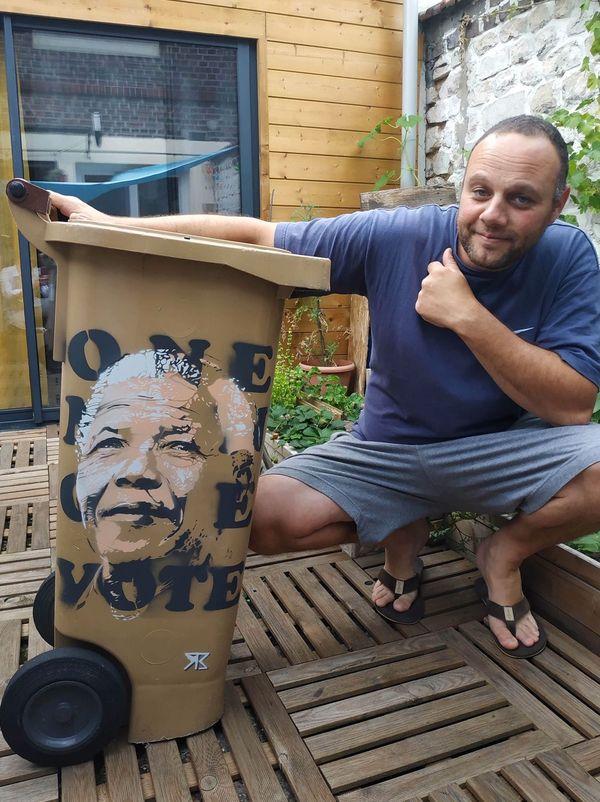 Ivan Saliba a choisi Nelson Mandela