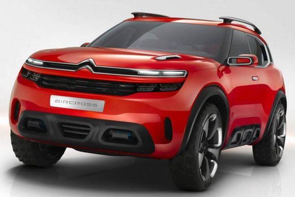 Le nouveau véhicule s'inspire du concept car Aircross
