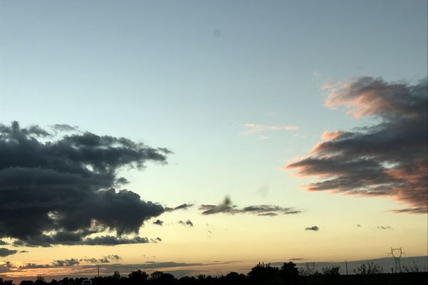 Un ciel d'automne