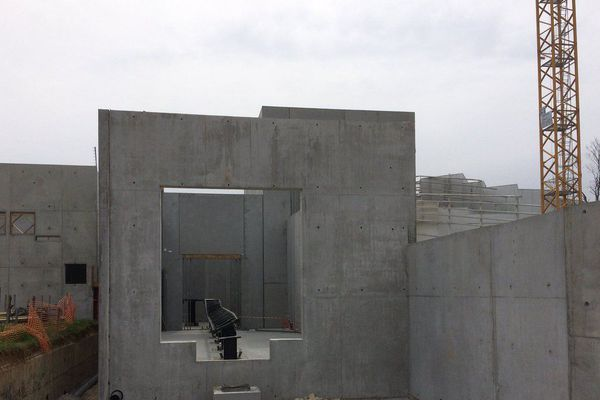 La construction de la nouvelle attraction du Futuroscope a commencé